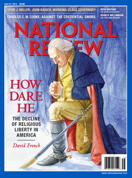 National Review Cover - 4/21/2014