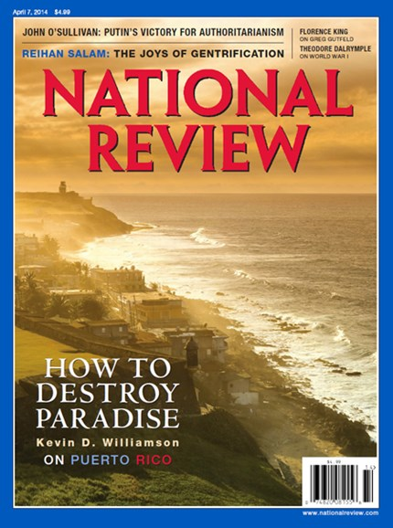National Review Cover - 4/7/2014