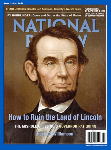 National Review Cover - 8/11/2014
