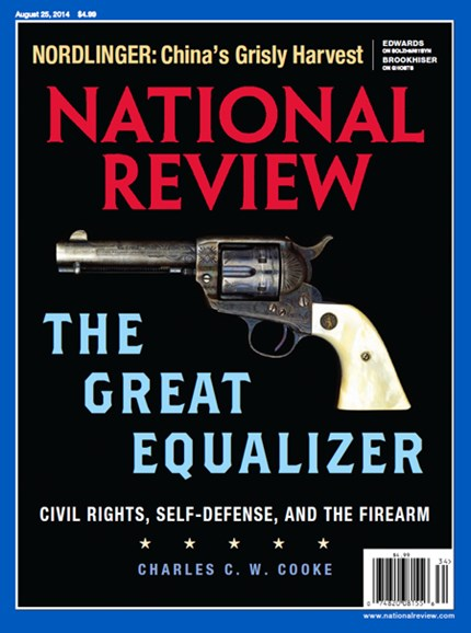 National Review Cover - 8/25/2014