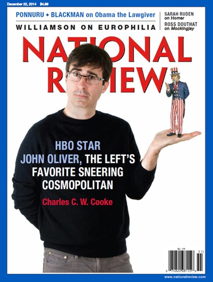 National Review Cover - 12/22/2014