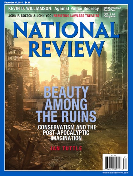 National Review Cover - 12/31/2014