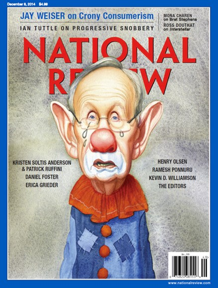 National Review Cover - 12/8/2014
