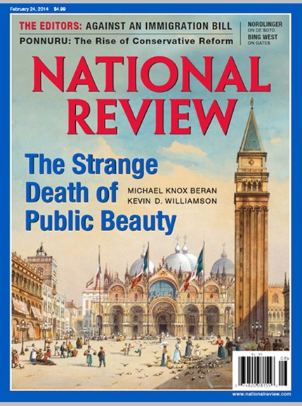 National Review Cover - 2/24/2014