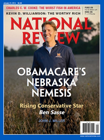 National Review Cover - 1/27/2014