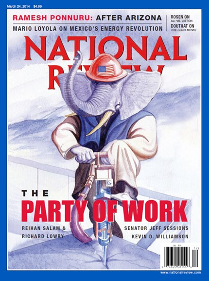 National Review Cover - 3/24/2014