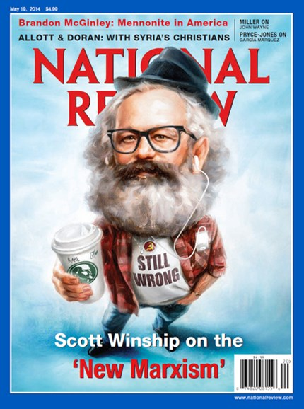 National Review Cover - 5/19/2014