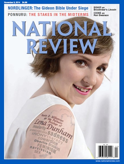 National Review Cover - 11/3/2014