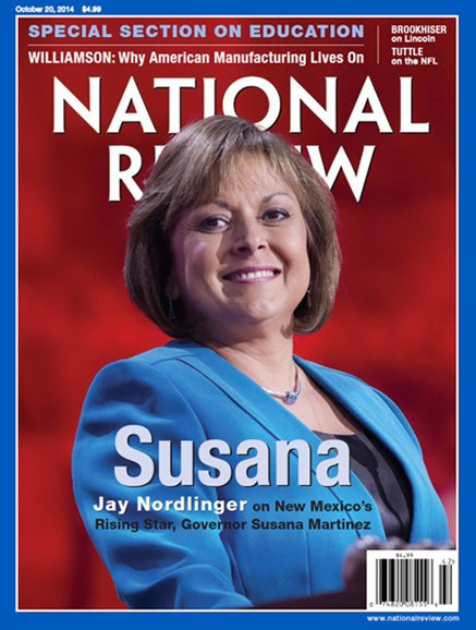 National Review Cover - 10/20/2014