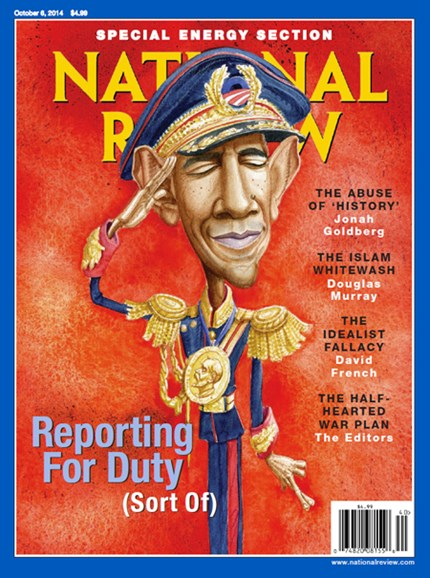 National Review Cover - 10/6/2014
