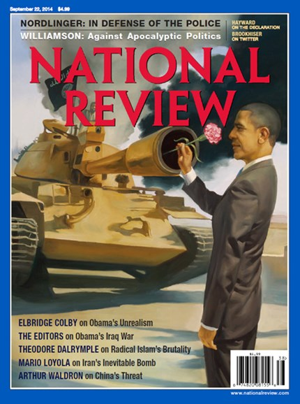 National Review Cover - 9/22/2014