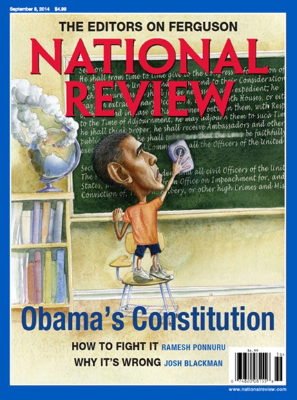 National Review Cover - 9/8/2014