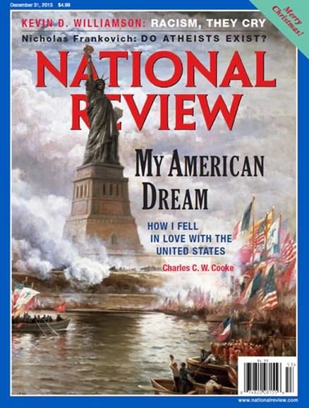 National Review Cover - 12/31/2013