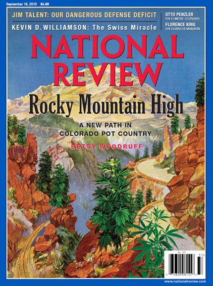 National Review Cover - 9/16/2013