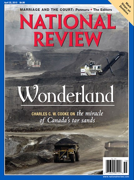 National Review Cover - 4/22/2013