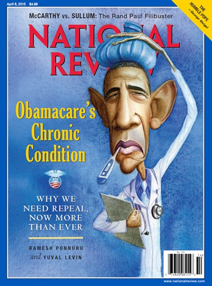 National Review Cover - 4/8/2013