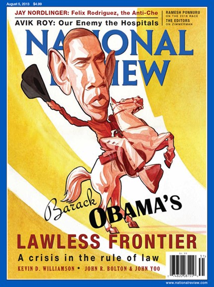 National Review Cover - 8/5/2013