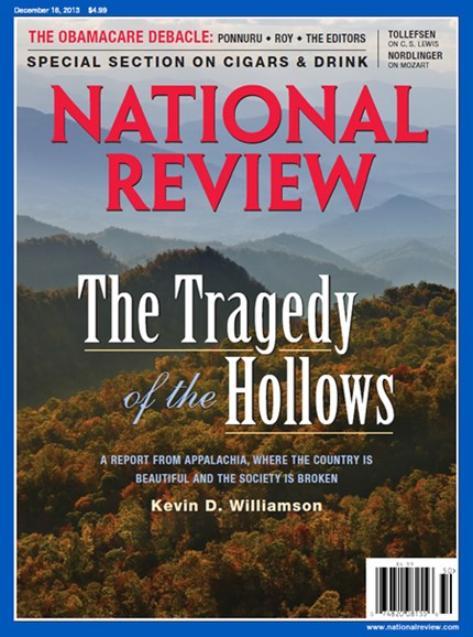 National Review Cover - 12/16/2013