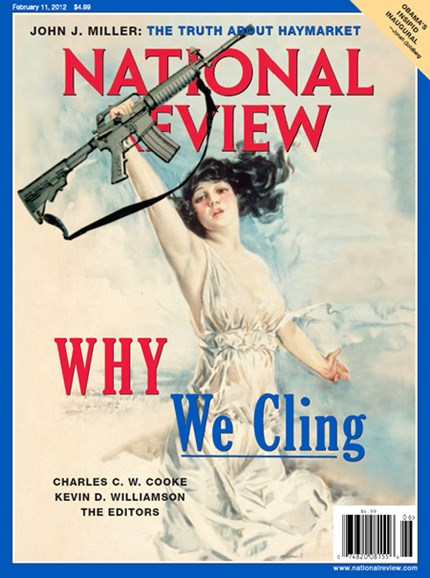 National Review Cover - 2/11/2013