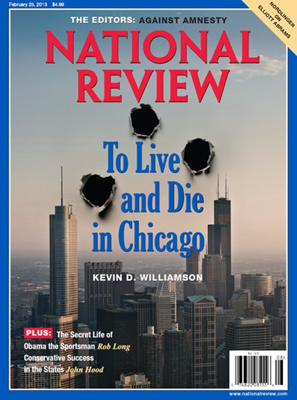 National Review Cover - 2/25/2013