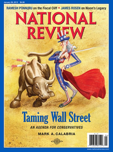 National Review Cover - 1/28/2013