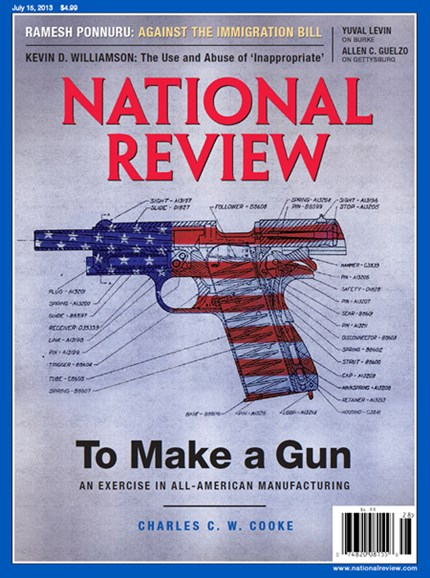 National Review Cover - 7/15/2013