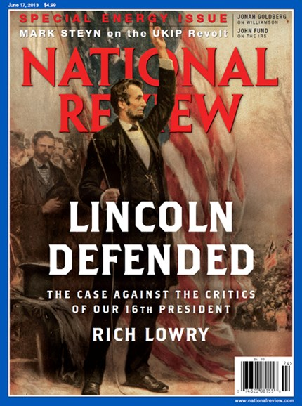 National Review Cover - 6/17/2013