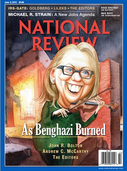 National Review Cover - 6/3/2013
