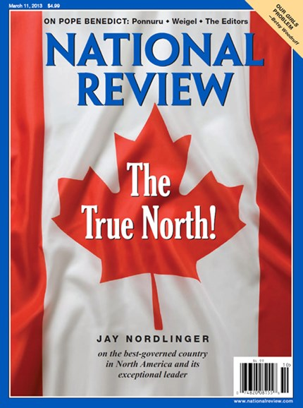 National Review Cover - 3/11/2013