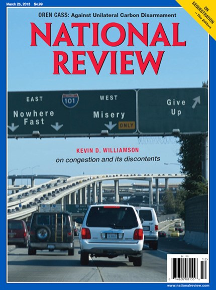 National Review Cover - 3/25/2013