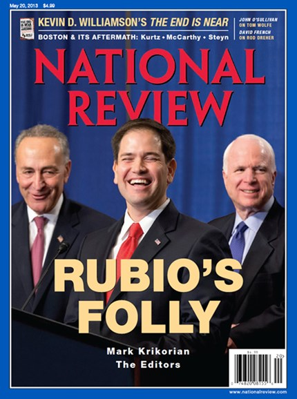 National Review Cover - 5/20/2013