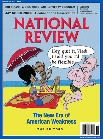National Review Cover - 10/14/2013