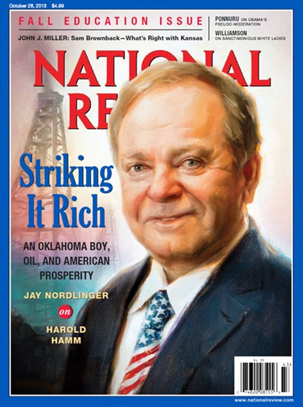 National Review Cover - 10/28/2013