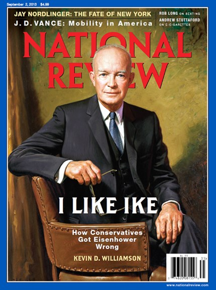 National Review Cover - 9/2/2013