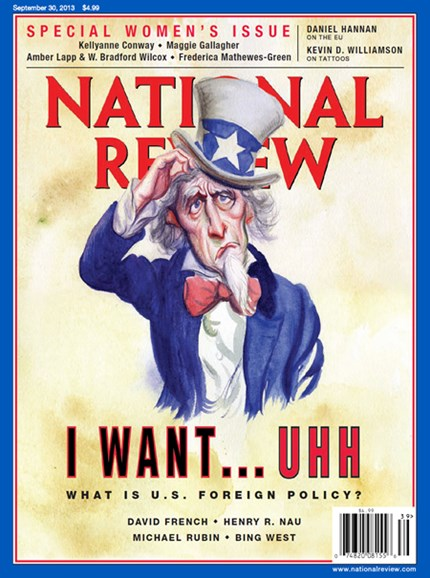 National Review Cover - 9/30/2013