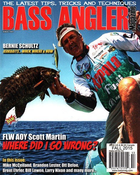 Bass Angler Cover - 9/1/2015
