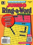 Jumbo Ring a Word Magazine 12/1/2015