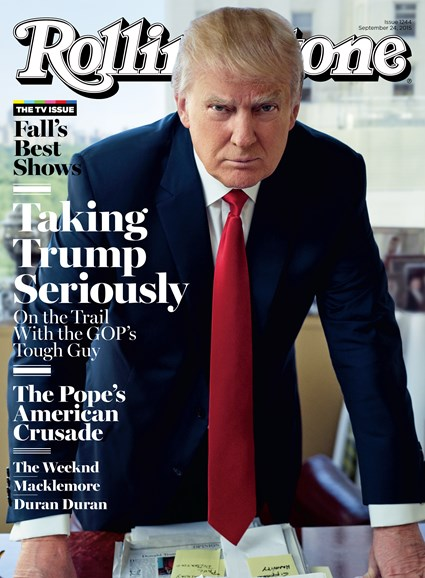 Rolling Stone Cover - 9/24/2015