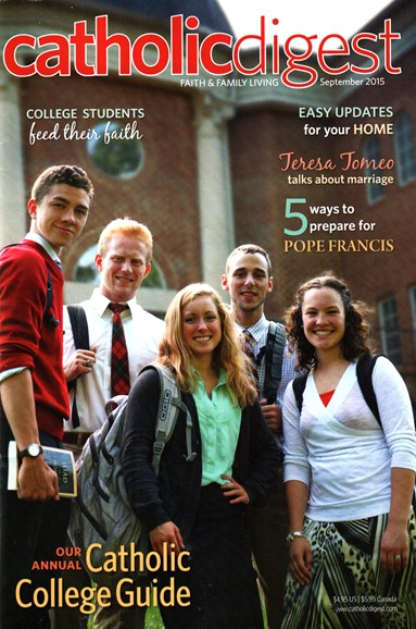 Catholic Digest Cover - 9/1/2015