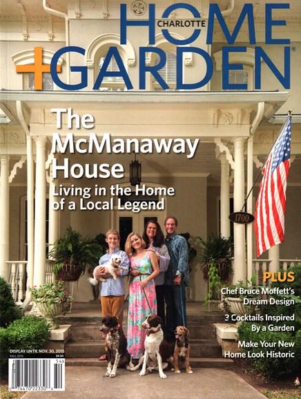 Charlotte Home & Garden Cover - 9/1/2015