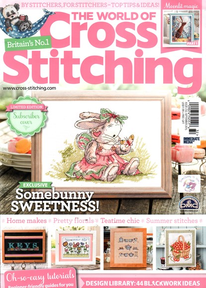 The World of Cross Stitching Cover - 9/1/2015