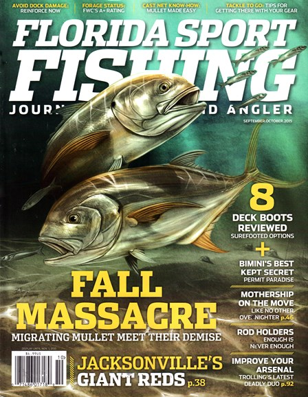 Florida Sport Fishing Cover - 9/1/2015