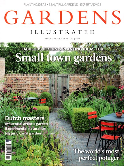 Gardens Illustrated Cover - 8/1/2015