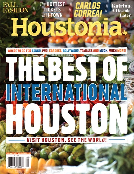 Houstonia Cover - 9/1/2015