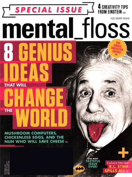 Mental Floss Cover - 10/1/2015