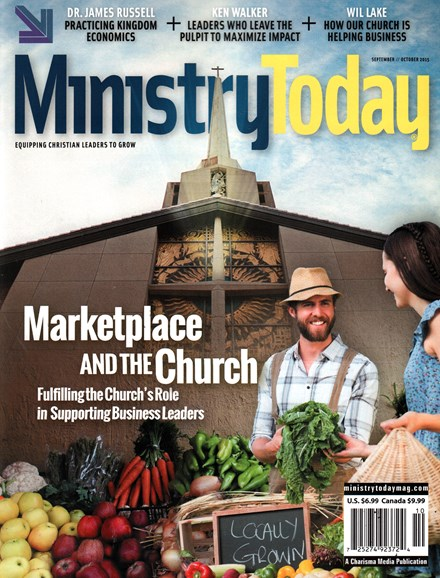 Ministry Today Cover - 9/1/2015