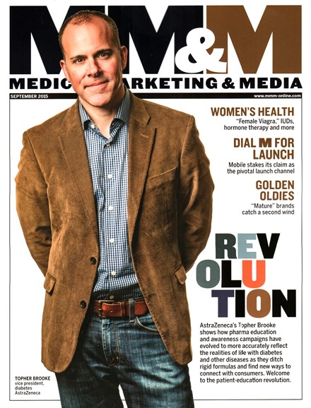 Medical Marketing & Media Cover - 9/1/2015