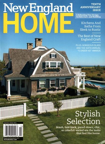 New England Home Cover - 9/1/2015