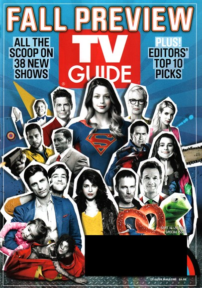 TV Guide Cover - 9/14/2015
