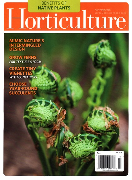 Horticulture Cover - 9/1/2015